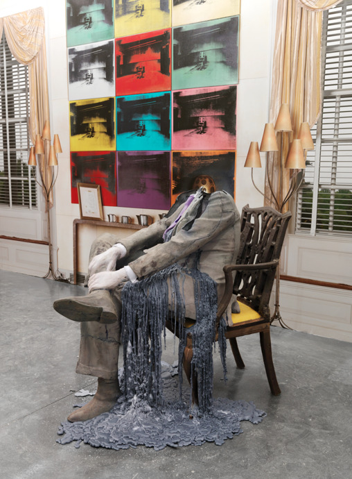Untitled (Seated); Abstract Slavery 2010