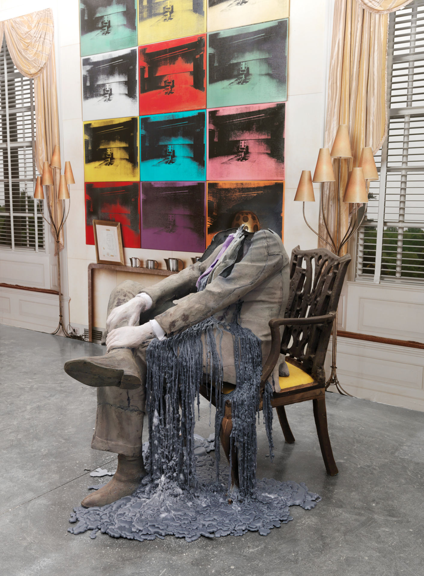 Untitled (Seated); Abstract Slavery