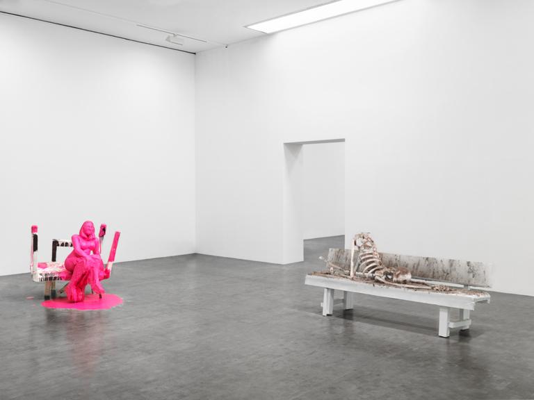 Untitled (Pink Lady); Skinny Sunrise 2012