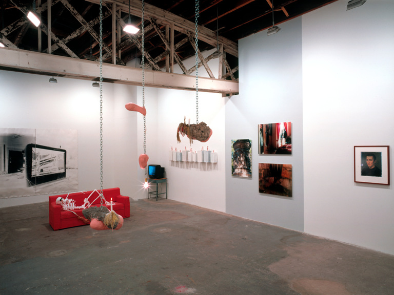 Internal Backdrop (Jealous House Blends & Airports);  Undigested Sunset 2001