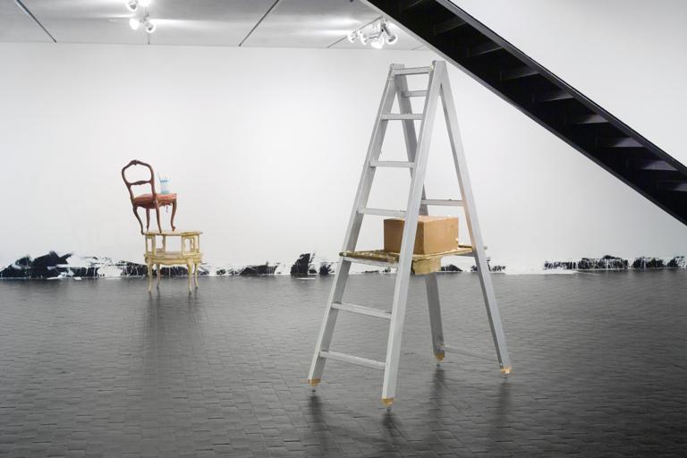 Addict; Chagall; Untitled (Floor Piece) 2006