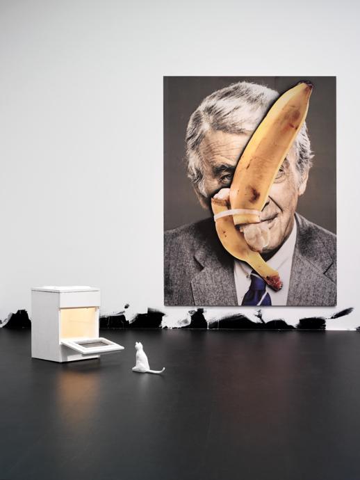 Mr. Flosky; Problem Painting; Untitled (Floor Piece) 2013