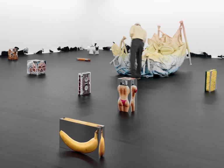 THEODOR / BERNICE / MAUREEN; CROOKER / CREAGH / CRANOR / CRANER; ALTENBURGER / SCHNEIDER / WINKLER; ROTHENBERG / MCCLUSKY; Untitled; CECILLE / BRENDA / ERICA; Untitled (Floor Piece) 2013