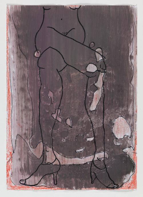Untitled; Untitled; Crossed Legs 1996