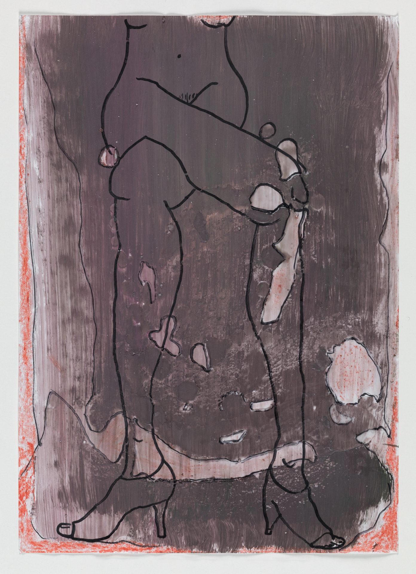 Untitled; Untitled; Crossed Legs