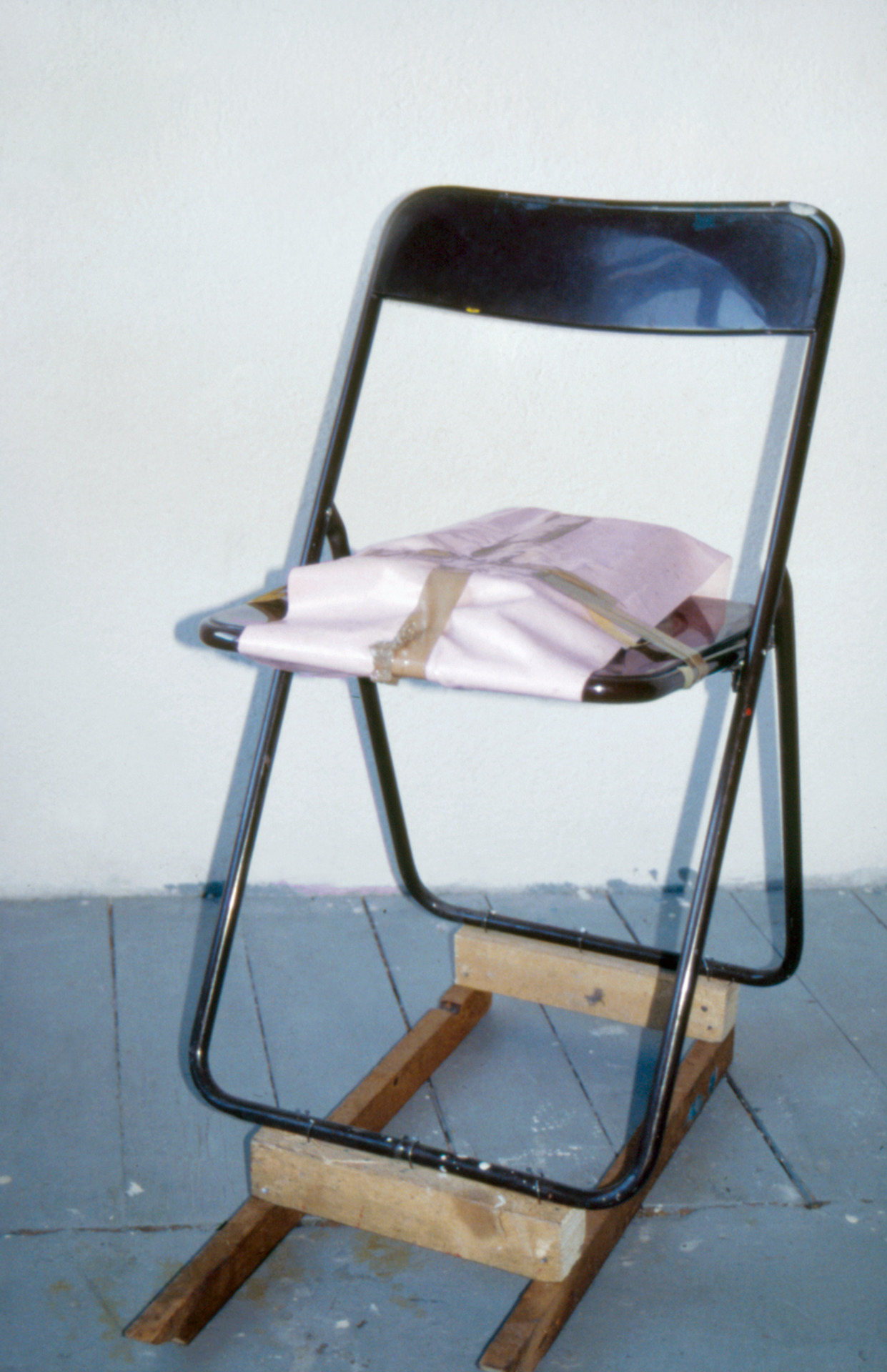 Untitled (Chair for a Table That Was Too Tall)