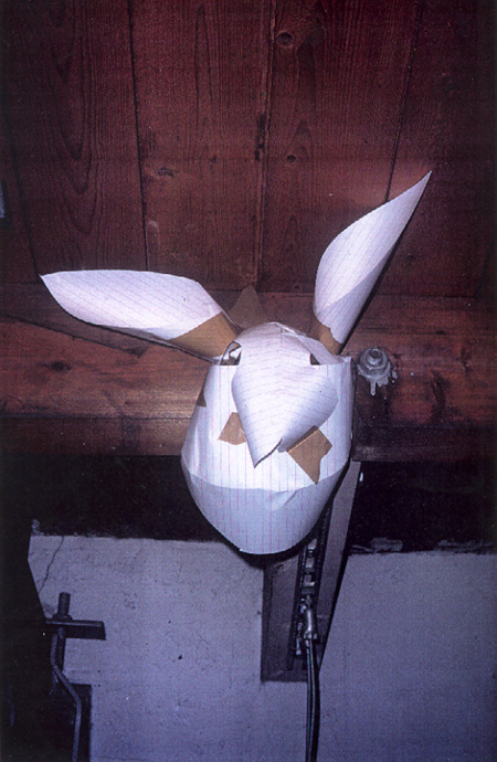 Untitled (Rabbit Mask) 1995