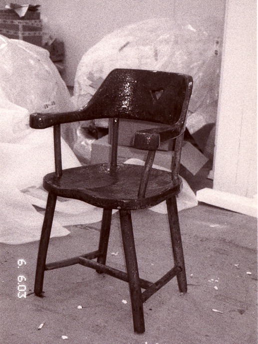Untitled (Chair for Carmen) 2003
