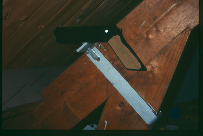 Untitled (Gun) 1995