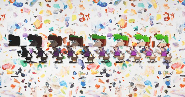 younoyou; Mixing Palette #2 2016