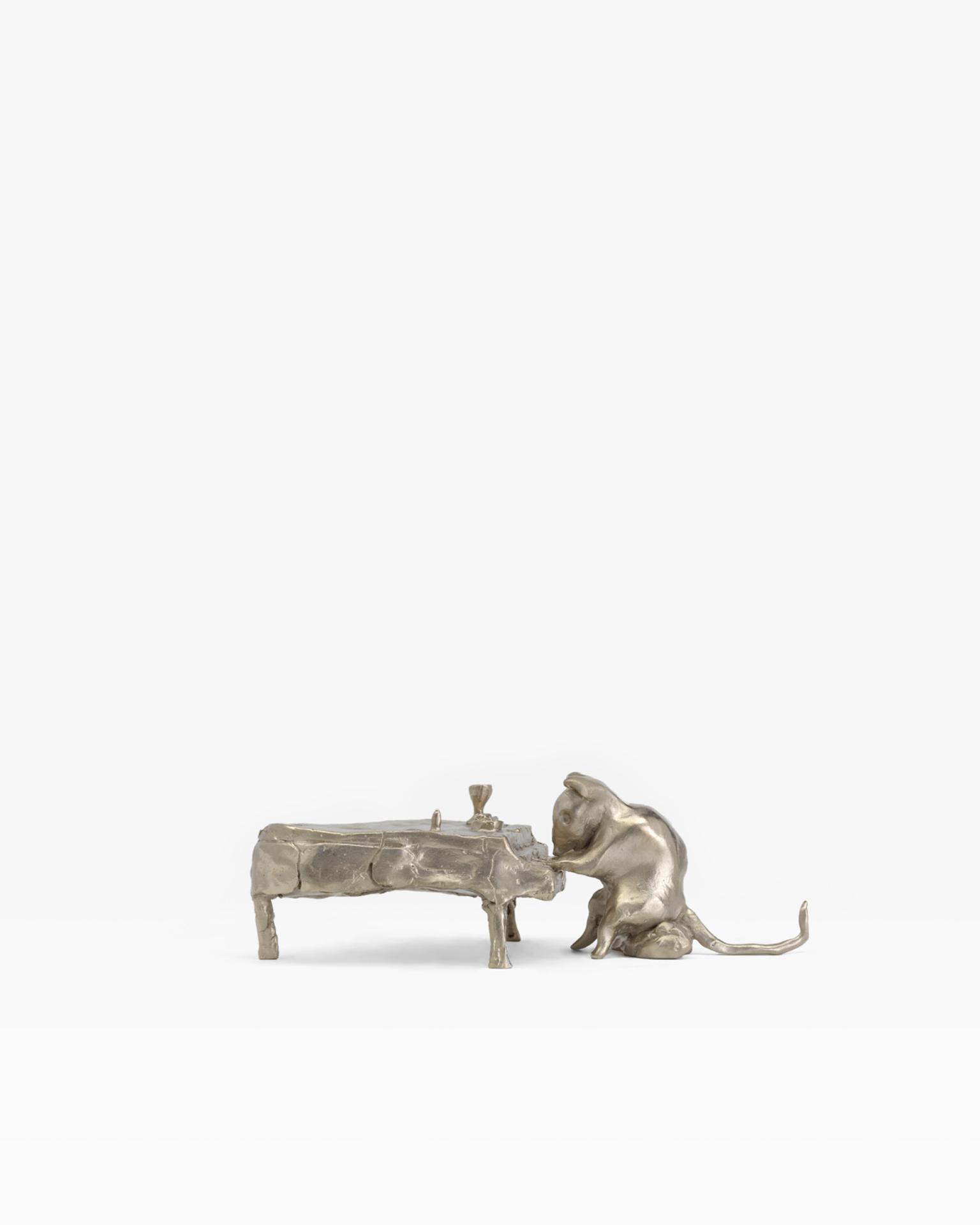 Rat Playing Piano