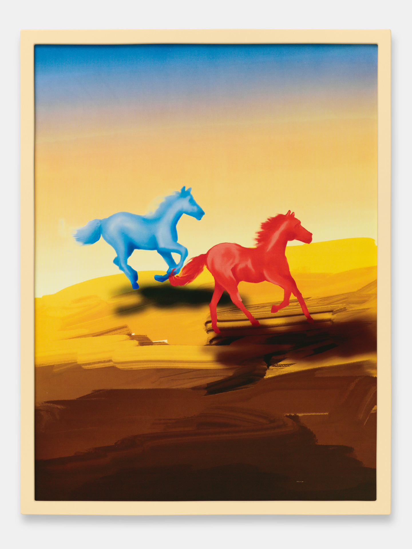Blue Horse - Red Horse