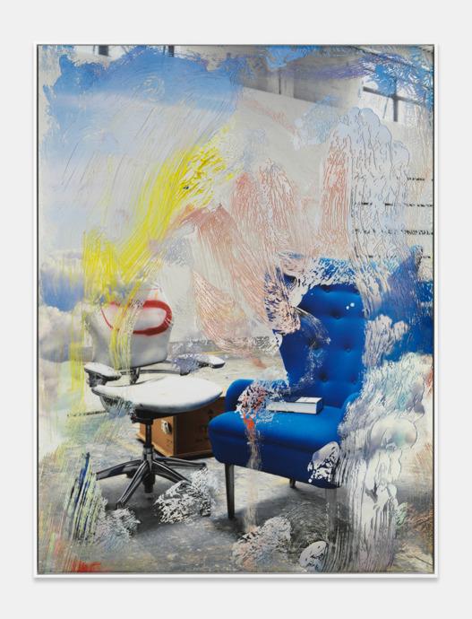 Blue Chair 2017
