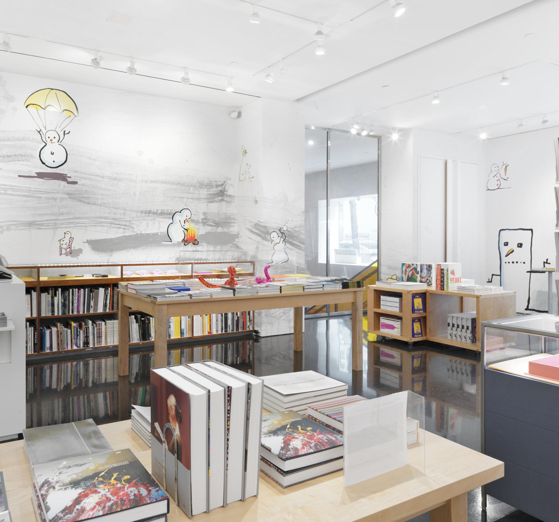 Gagosian bookshop takeover