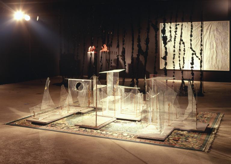 Glaskatzen---Mülleimer der Hoffnung; Stormy Weather; Köpfe; Schwerelosigkeit 1999