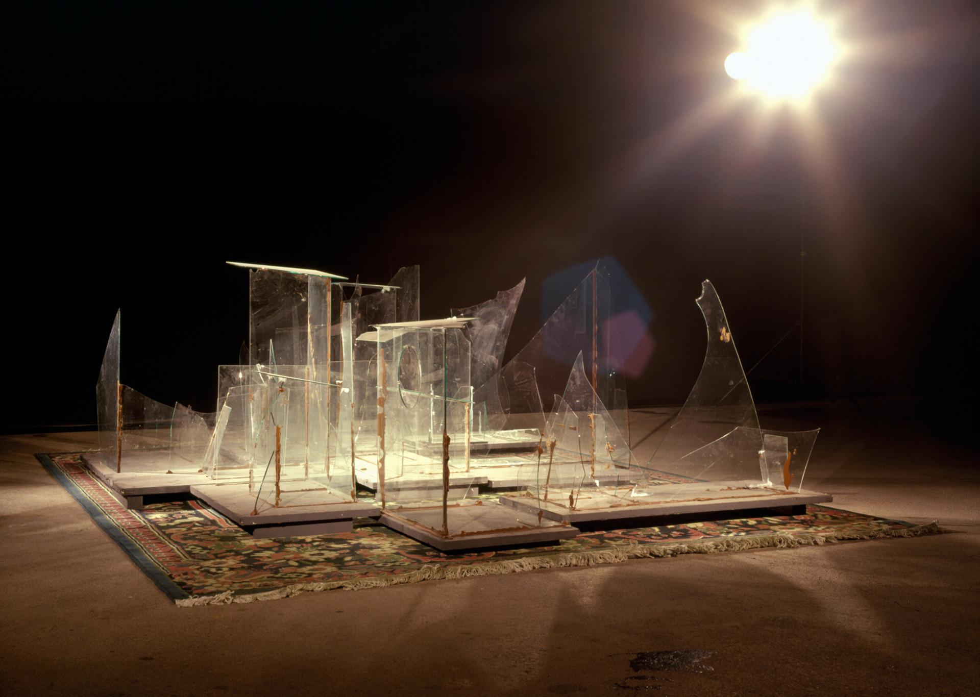 Glaskatzen---Mülleimer der Hoffnung