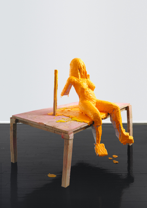 Untitled (Nude on a Table) 2002