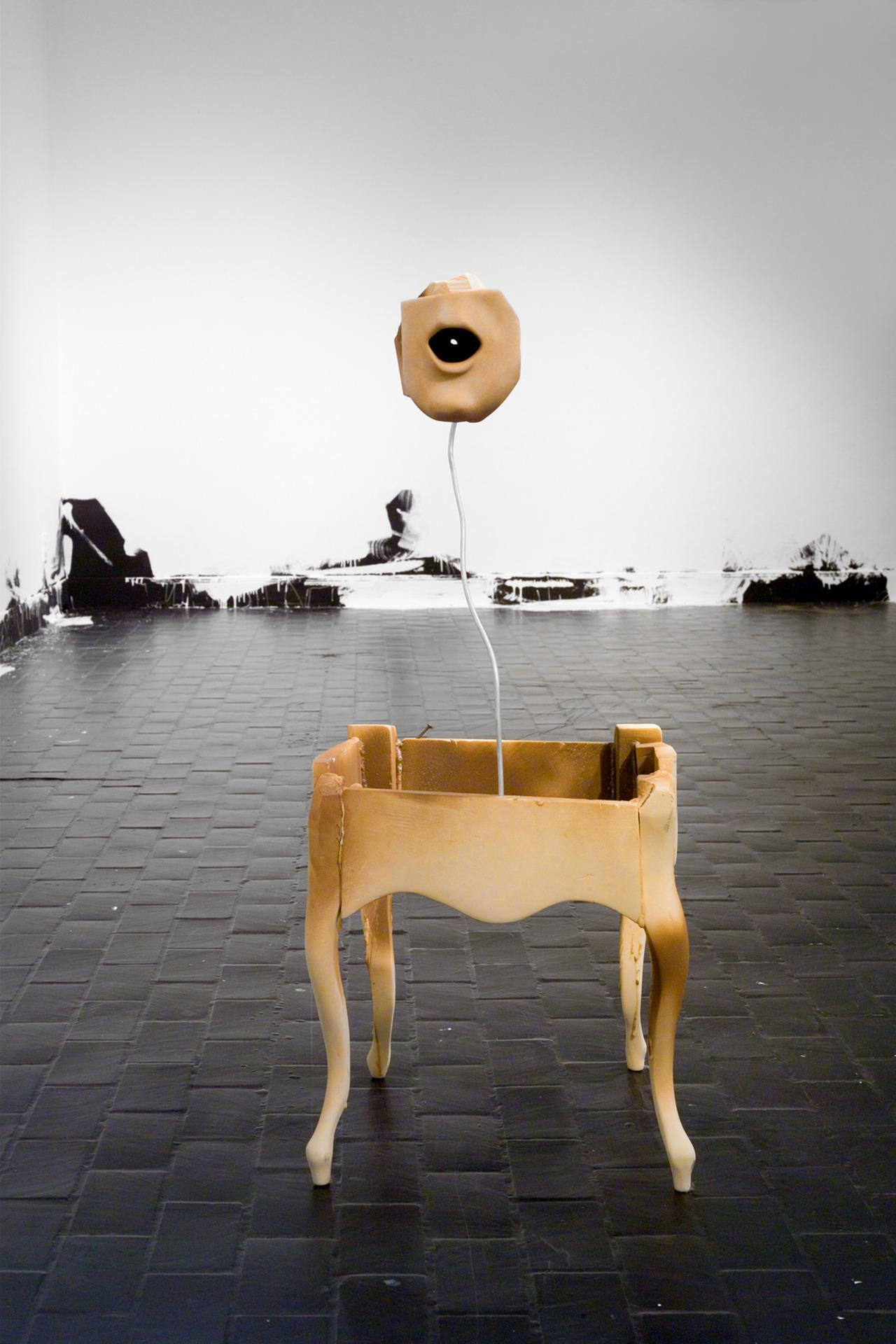 Untitled; Untitled (Floor Piece)