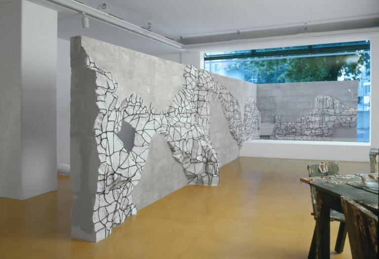 Untitled (Wand der Angst) 1997