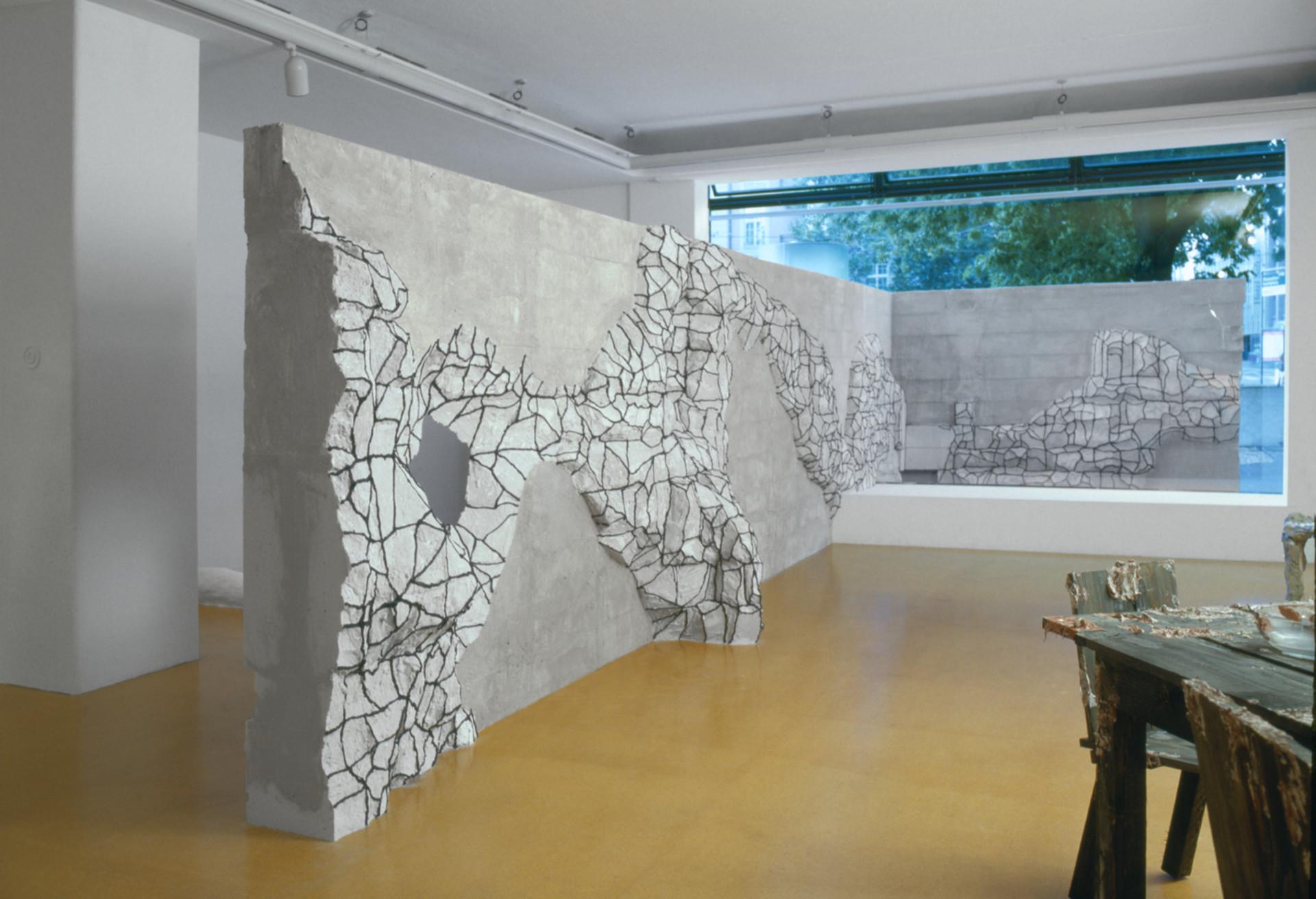 Untitled (Wand der Angst)