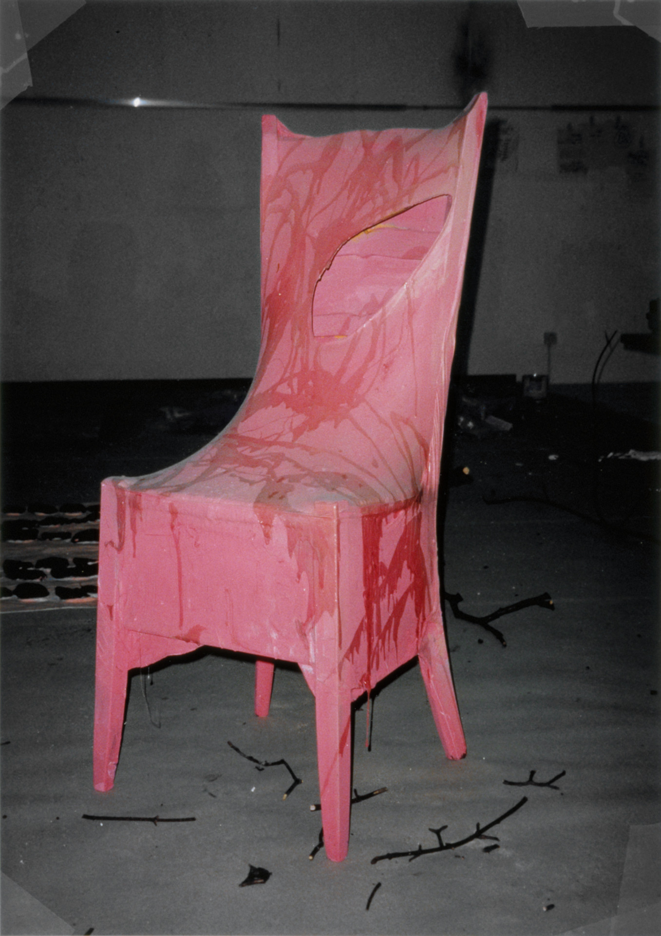 Untitled (Pink Chair)